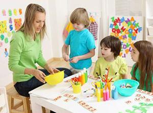 Класс для занятий с детьми