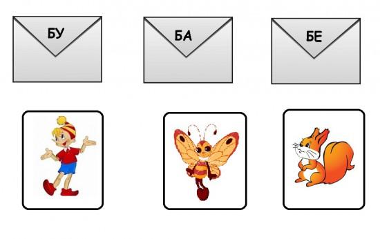 Изучаем буквы играя в «Почту»