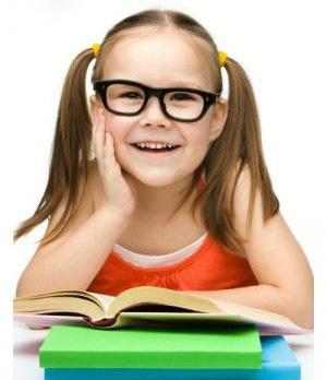 Девоска с книгами