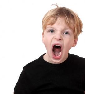Кричащий ребёнок