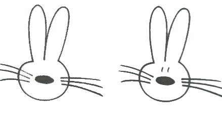 Рисунок зайца