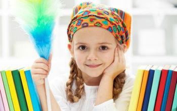 Приучаем ребёнка к порядку и уборке