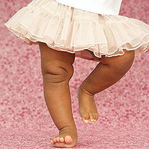 Маленькие детские ножки