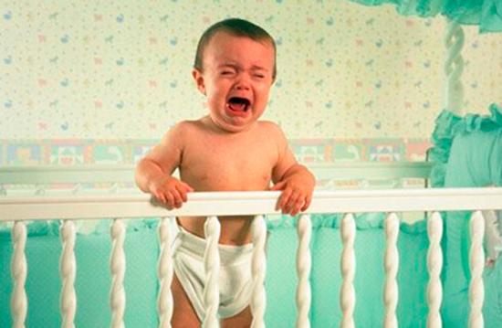 Ночные истерики у ребёнка