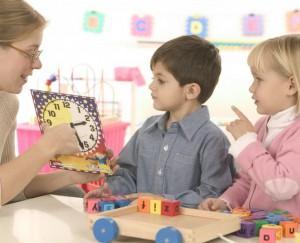 Дети с учителем