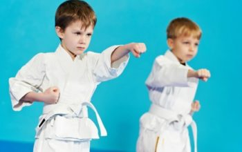 Карате для спортивного и морального воспитания детей